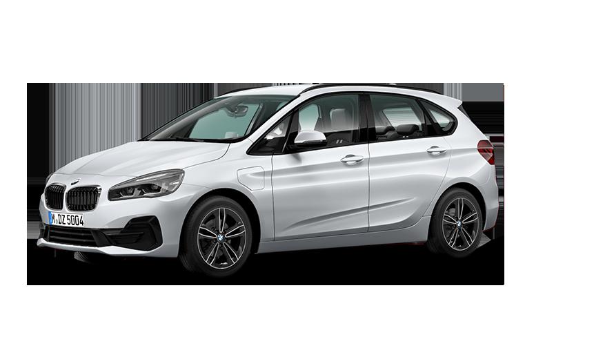 Resultado de imagem para white 2018 BMW 225xe