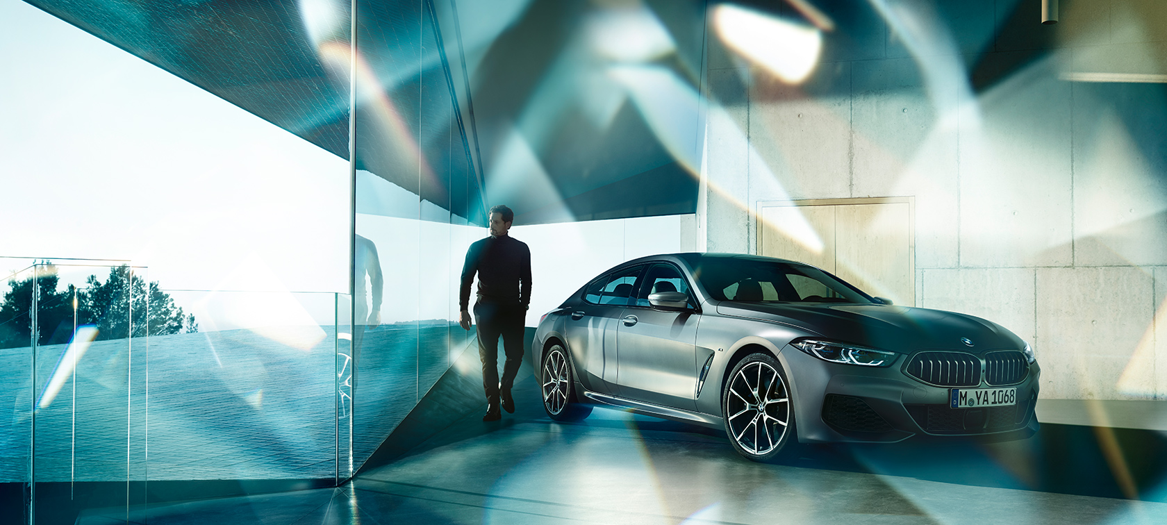 BMW M850i xDrive Gran Coupé, design, inspirar
